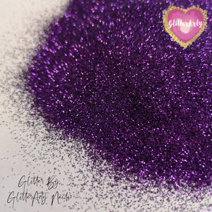 METALLIC GLITTER .008 CADBURY PURPLE ** 5G BAG
