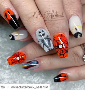 STICKY DIAMOND COLLABORATION DECAL Halloween