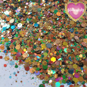 AUTUMN CHAMELEON GLITTER MIXES TIGER EYE ** 5G