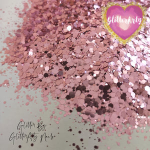 MEGA MIX METALLIC GLITTER - LIP GLOSS PINK ** 5G BAG **