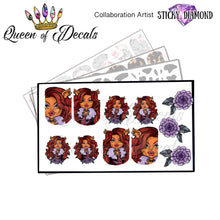 Load image into Gallery viewer, Clawdeen Wolf / Monster High -STICKY DIAMOND COLLABORATION