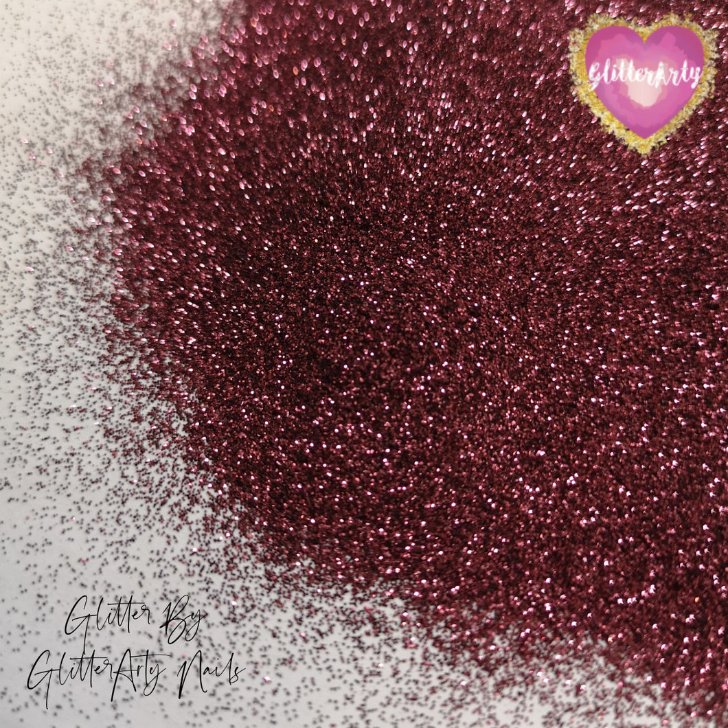 METALLIC GLITTER .008 BURGUNDY ** 5G BAG