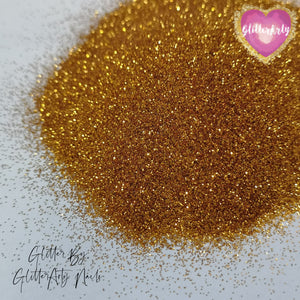 008 METALLIC BRASS NAIL GLITTER ** 5G BAG