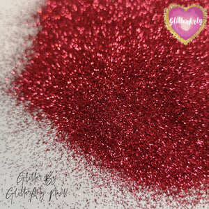 METALLIC .008 RASPBERRY GLITTER ** 5G BAG