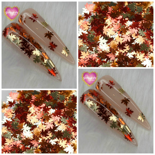 NO 4 - MAPLE MIXED COLOURED LEAVES ** 5ML