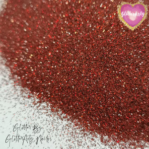 .008 HOLOGRAPHIC DARK RED NAIL GLITTER ** 5G BAG