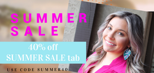 Summer Earrings on sale!  Find the perfect summer leather earrings at an affordable price.  Lightweight and nickel free vegan leather earrings.  End of Summer Sale with Purple Feather Designs.  Find all of you favorite leather earrings here.