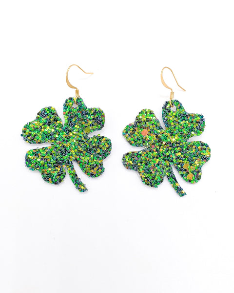 4 Leaf Clover - St. Patty's Day Earring