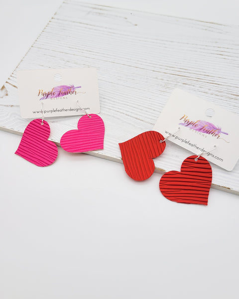So In Love Heart Earrings