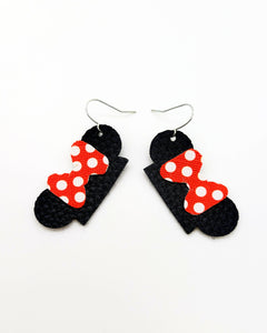 Minnie Hat Ears Earrings