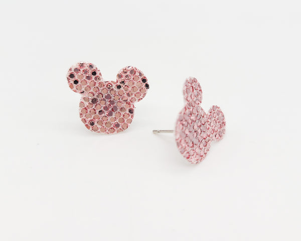Mickey Head Stud Earrings