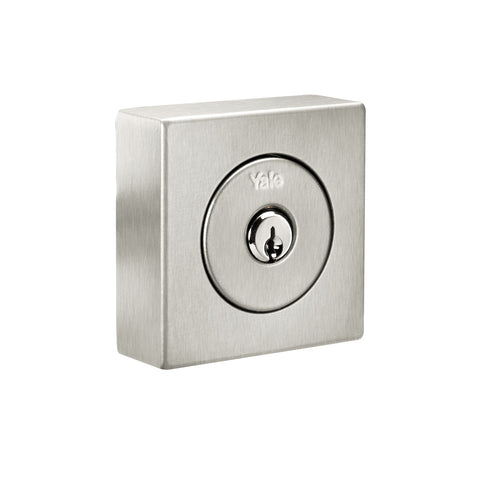 Flat Square Single Cylinder Mechanical Deadbolt_1