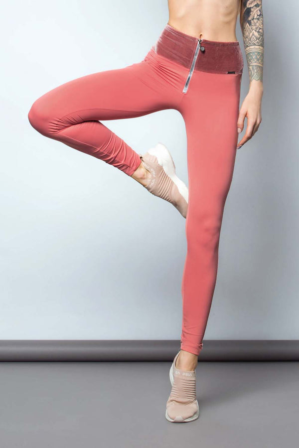 Beach Sand Leggings Rose Gold