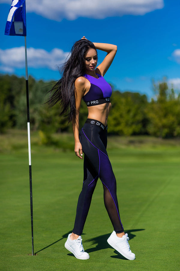 DF PRO High Waist Leggings Violet
