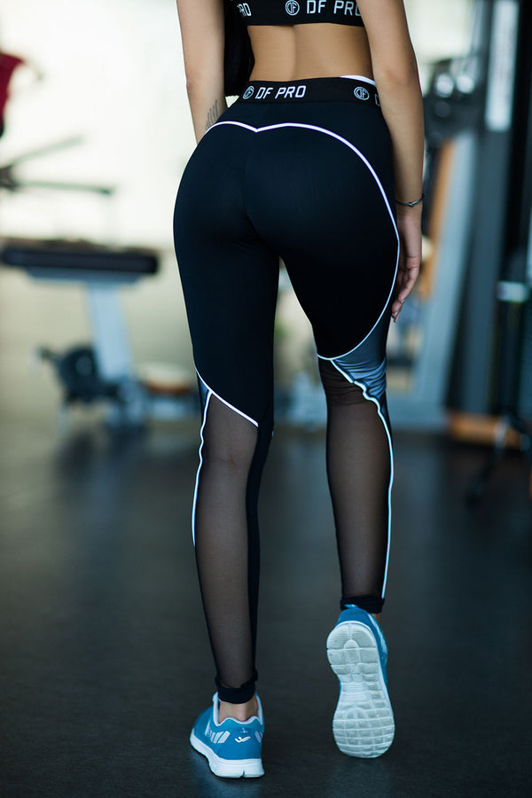 DF PRO High Waist Leggings White