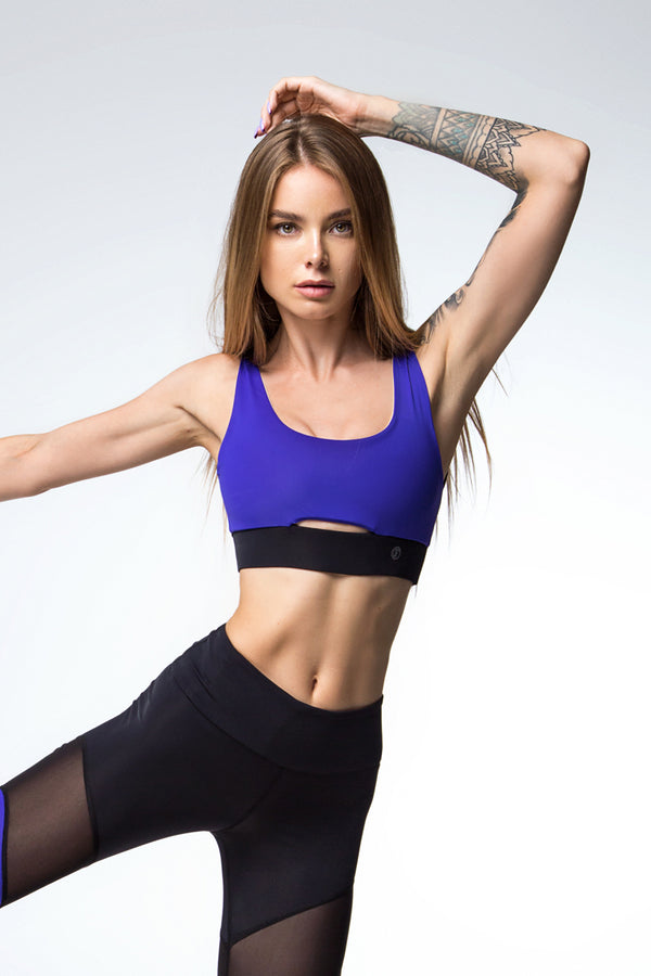 Kolibri Sports Bra Purple
