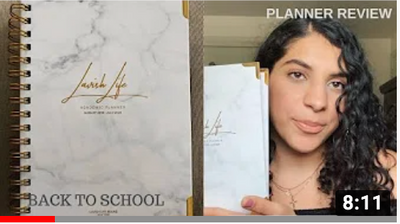 LAVISH LIFE PLANNER REVIEW by LavishRuby ||