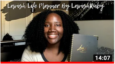 Lavish Life Academic Planner Unboxing + Review