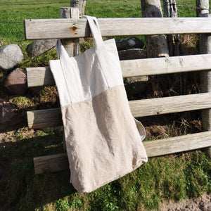 Oversized Linen Tote bag