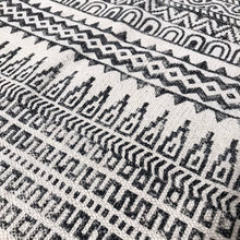Load image into Gallery viewer, DHURRIE #4 | Handmade Block Printed Cotton Rug
