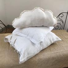Load image into Gallery viewer, CLOUD | Antique Linen Pillow