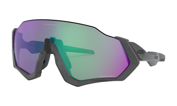 Oakley FLIGHT JACKET Matte Steel Prizm Road Jade