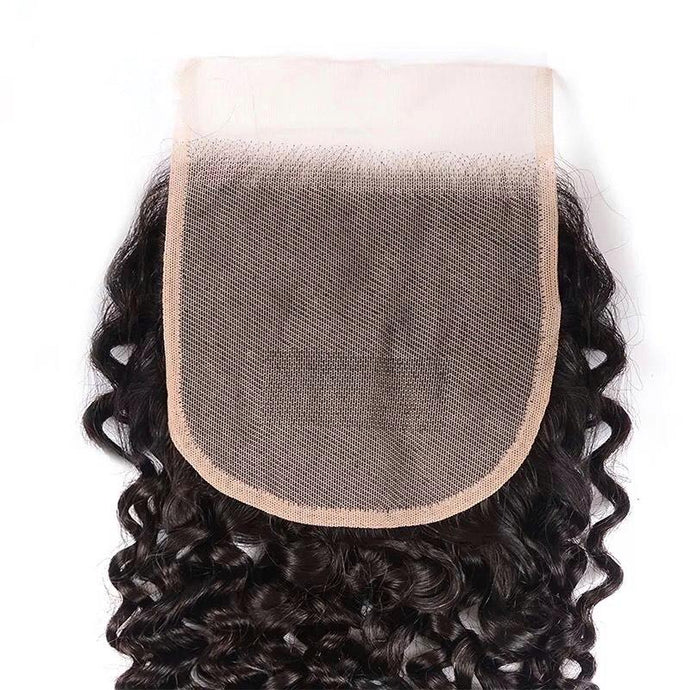 HD Closure - Malaysian Deep Curly