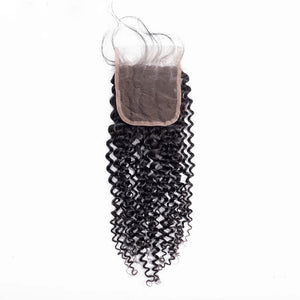 Kinky Curly - HD Lace line closure + bundles