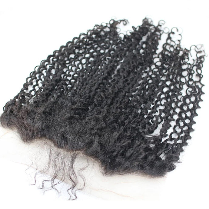 Kinky Curly - HD Lace line frontal + bundles