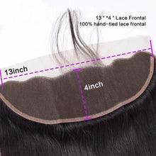 Load image into Gallery viewer, Brazilian Straight - HD Lace line frontal + bundles