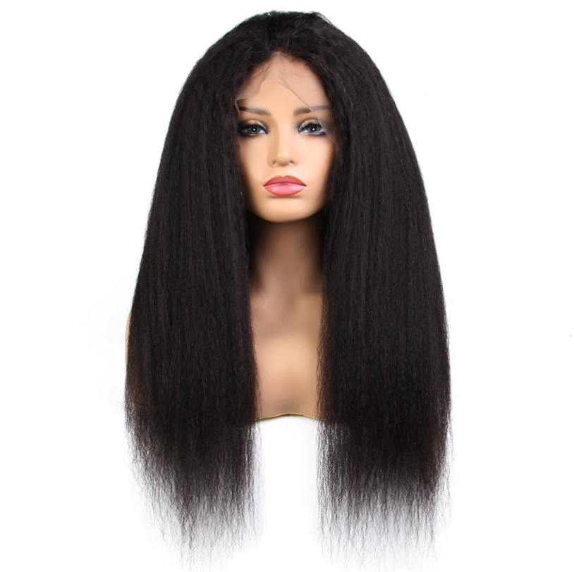 Full Lace Wig - Kinky Straight