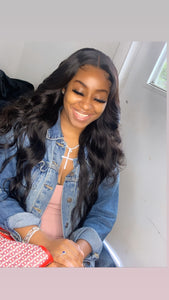 Brazilian Bodywave- HD Lace line frontal + bundles