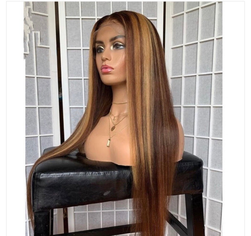 Highlighted Wigs