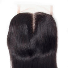 Load image into Gallery viewer, Brazilian Straight - HD Lace line closure + bundles