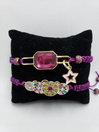 Mayenta macrame Bracelets - Accessories by v