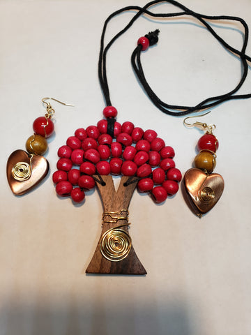 Red tree life set - Accessories by v