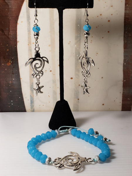 Blue turtle set - Accessories by v