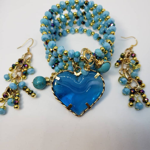 LIGHT BLUE  SET - Accessories by v
