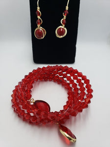 RED SET - Accessories by v