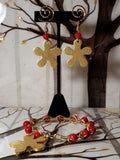 Red bangles set - Accessories by v