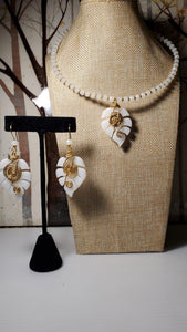 White necklace set - Accessories by v