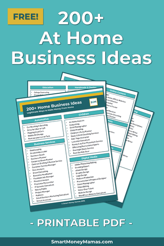 200+ At-Home Business Ideas