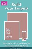 Build Your Empire Printable Wall Art