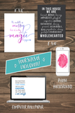 Brene Brown Quote Bundle - Printable Art & Wallpaper