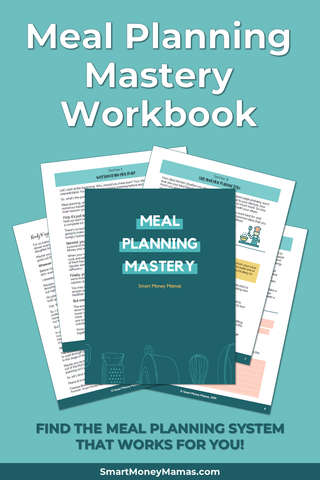 Meal Planning Mastery Workbook