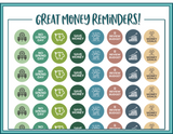 Money Planner Stickers - Printable