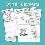 Ultimate Bullet Journal Layout Bundle