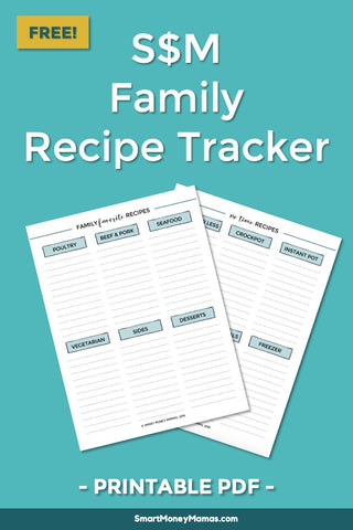 Family Favorite Recipe List