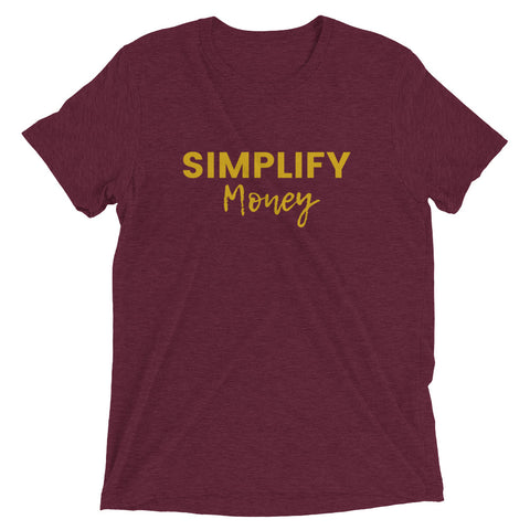 Simplify Money Tee