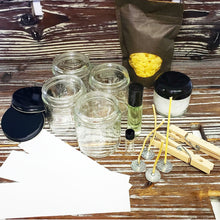 Load image into Gallery viewer, DIY Organic Beeswax Candle Kit